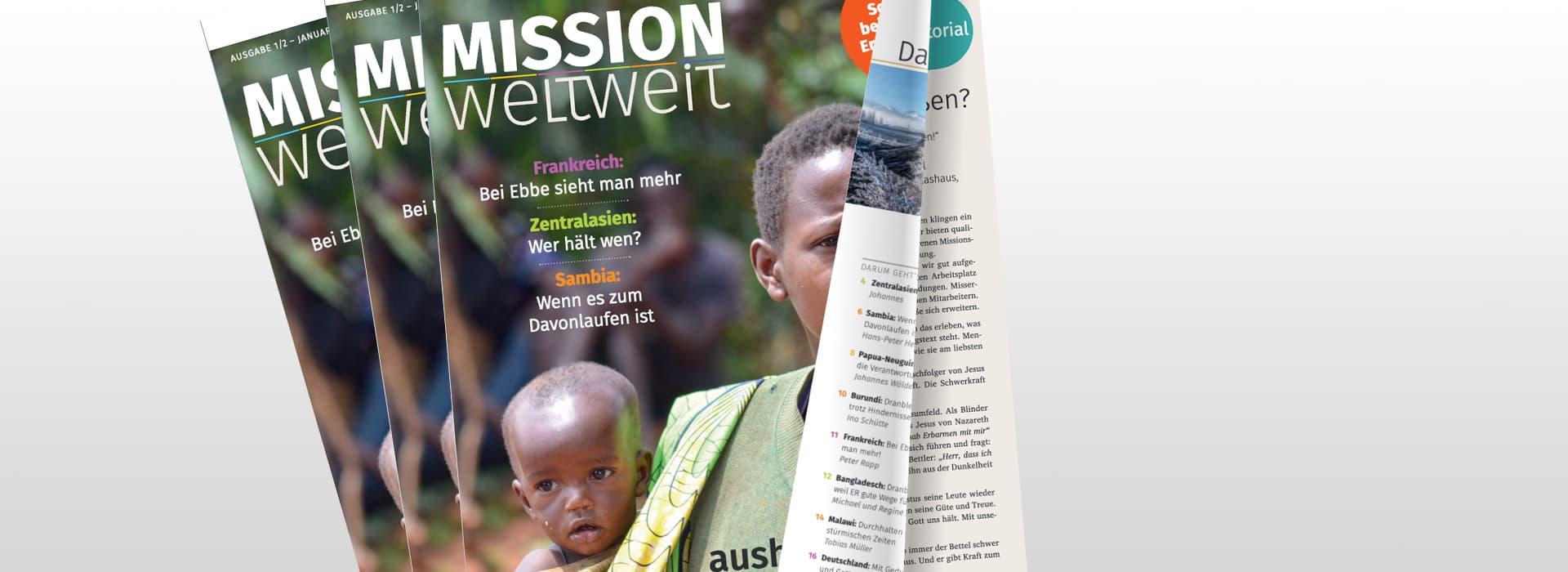 MISSION weltweit