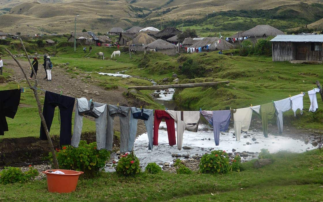 Cipriano in Ecuador