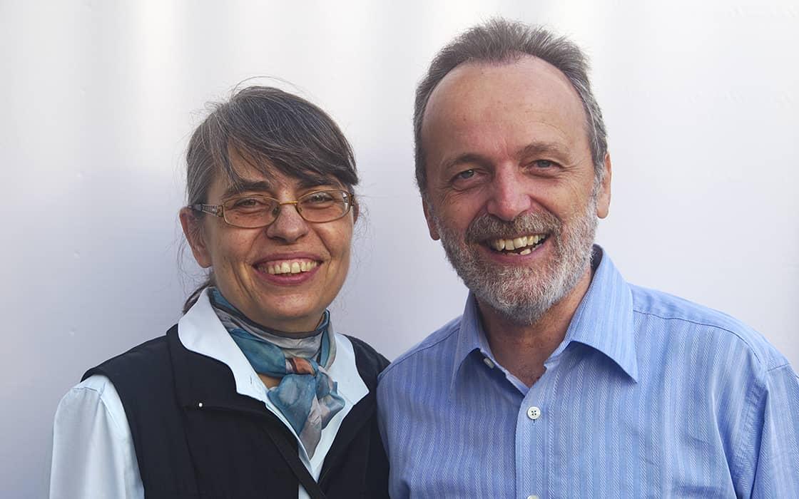 Hartmut und Urte Scherer in Mikronesien: Leben für den König