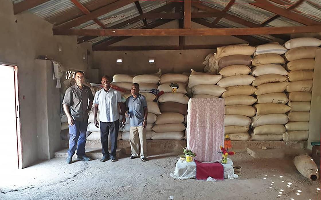 News: Liebenzeller Mission verteilt Mais in Sambia gegen den Hunger