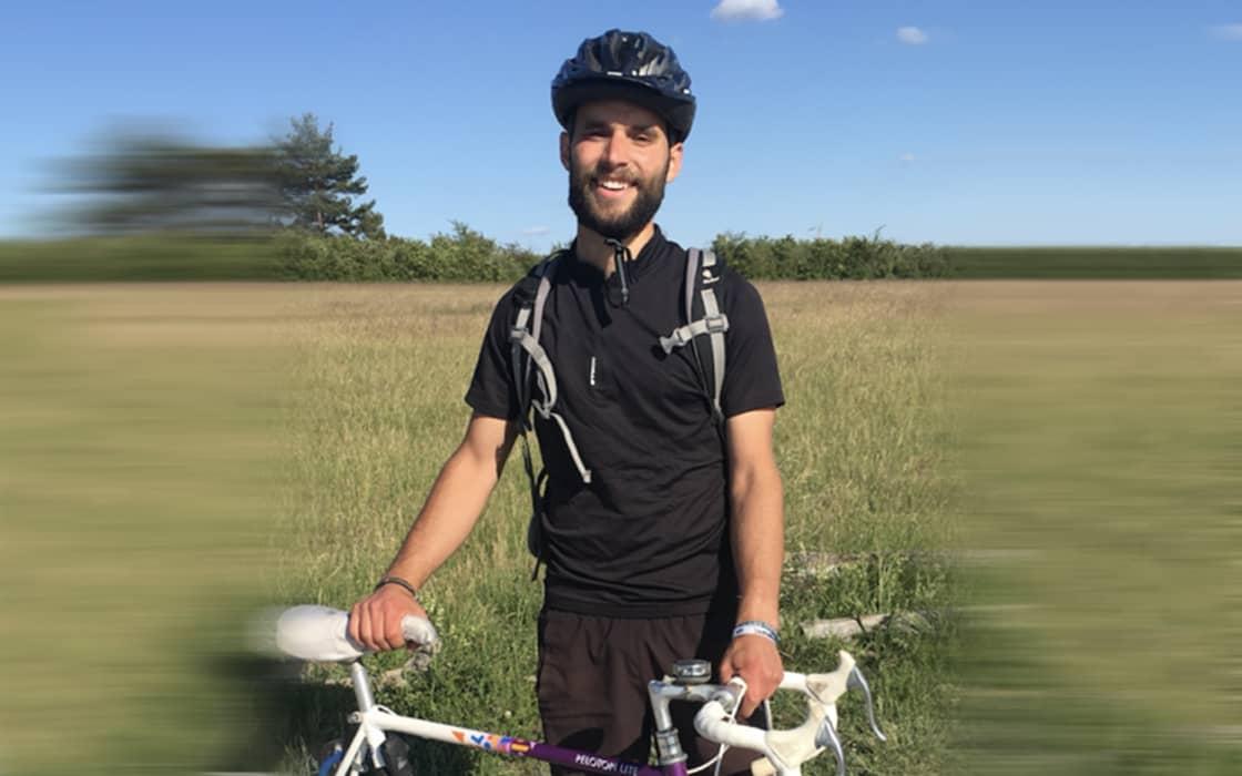 Über 7.000 Euro mit 30 Jahre altem Rennrad für die Missionsarbeit in Bangladesch erradelt