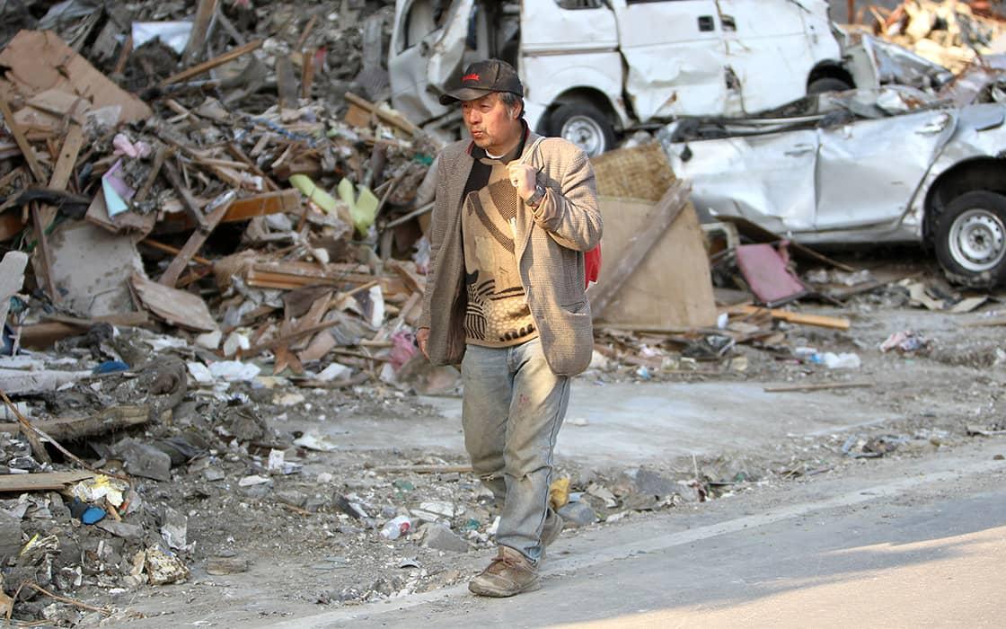 Zehn Jahre nach der dreifachen Katastrophe inJapan
