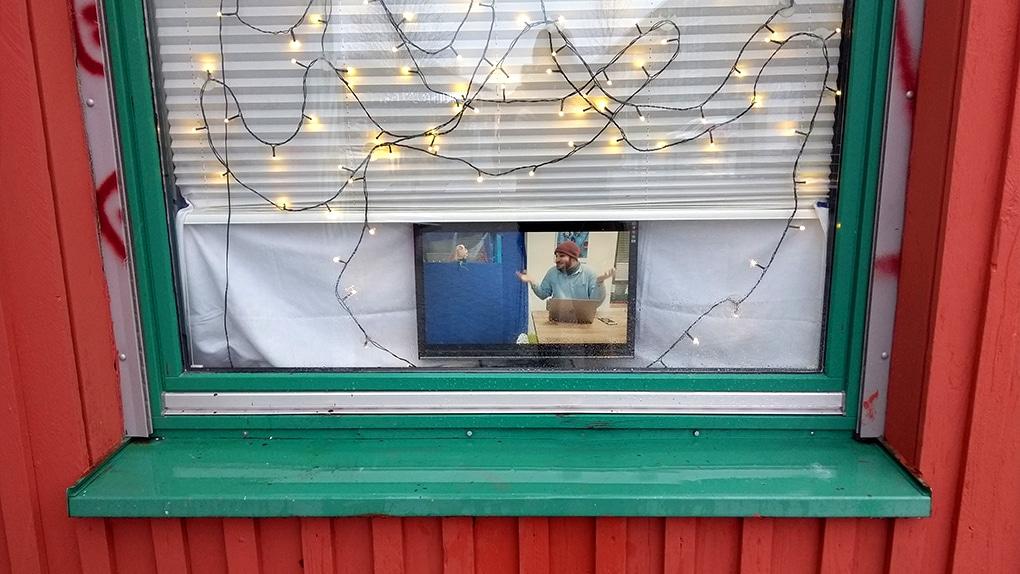 Videos aus dem Bürofenster