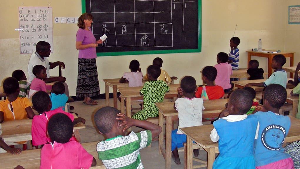 Erste Kindergartenkinder feiern Schulabschluss