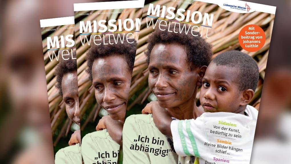 """Neue Ausgabe """"Mission weltweit"""""""