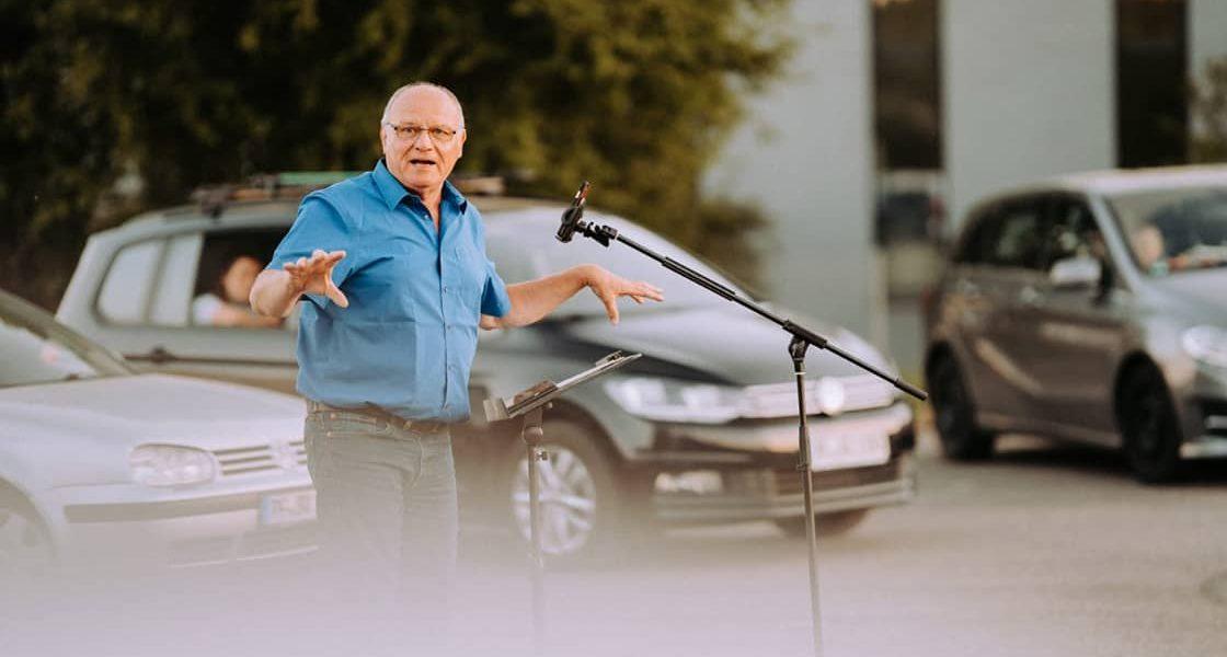 Evangelisation im Autokino