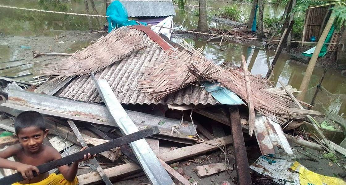 Zyklon in Bangladesch